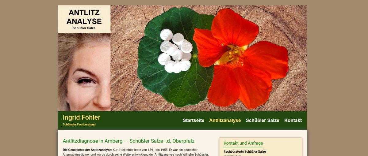Homepage für Mineralstoff Beratung in Amberg Sulzbach Rosenberg
