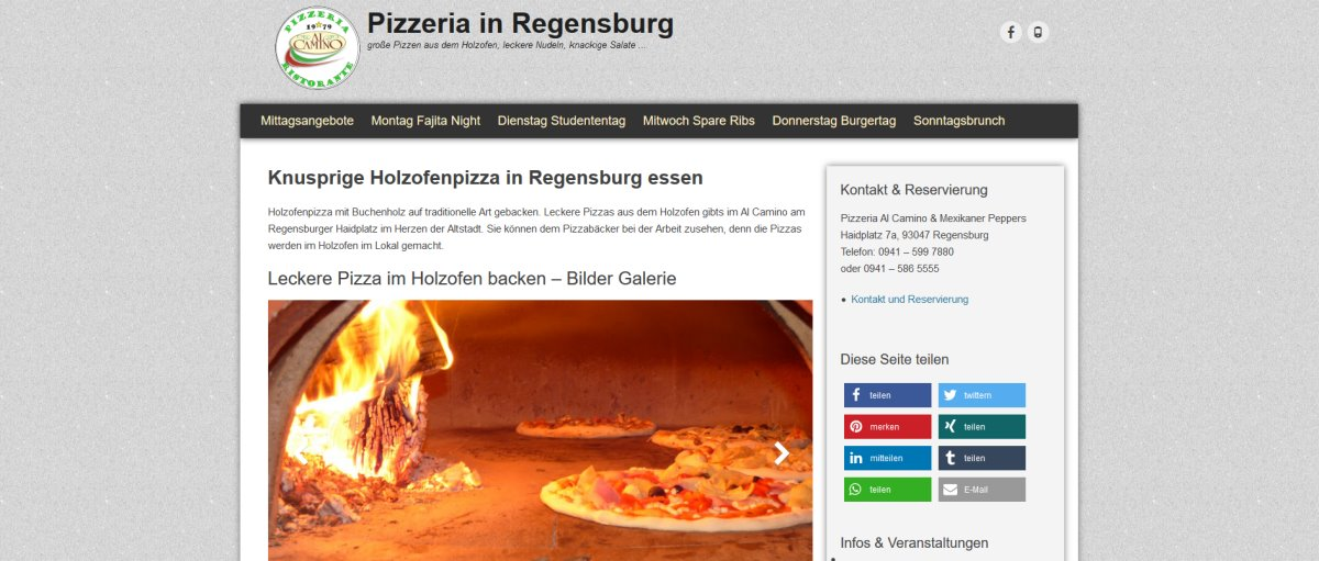 homepage-erstellen-regensburg-innenstadt-pizzeria-haidplatz