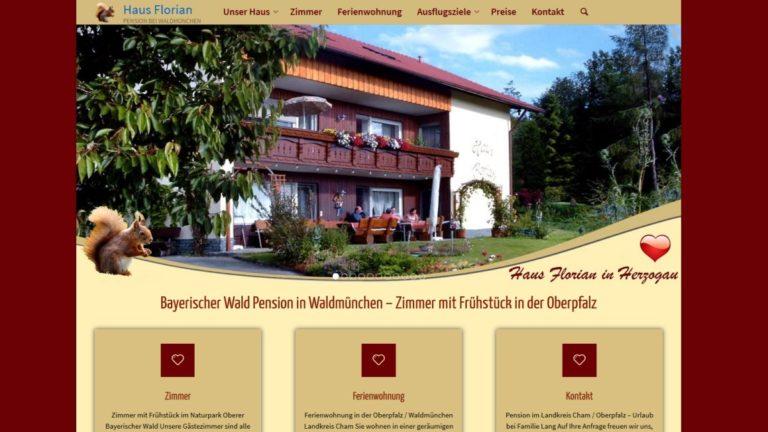 homepage-erstellung-pension-waldmünchen-oberpfalz-zimmer