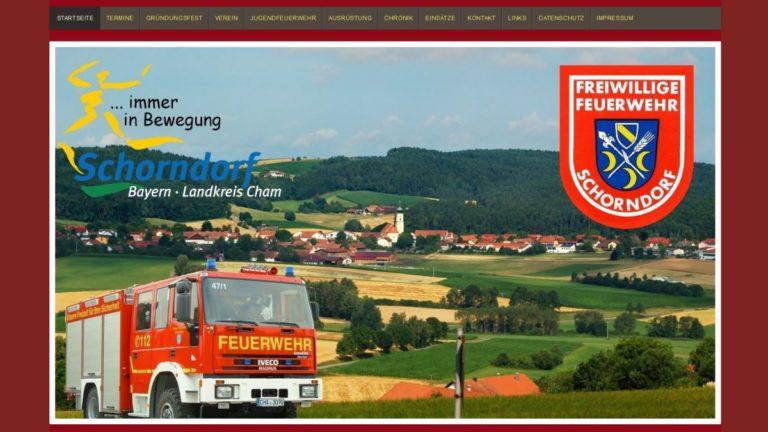 homepage-feuerwehr erstellen-bayern-website-wordpress