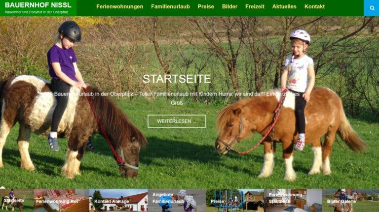 homepage-ponyhof-oberpfalz-website-erstellenneunburg-vorm-wald