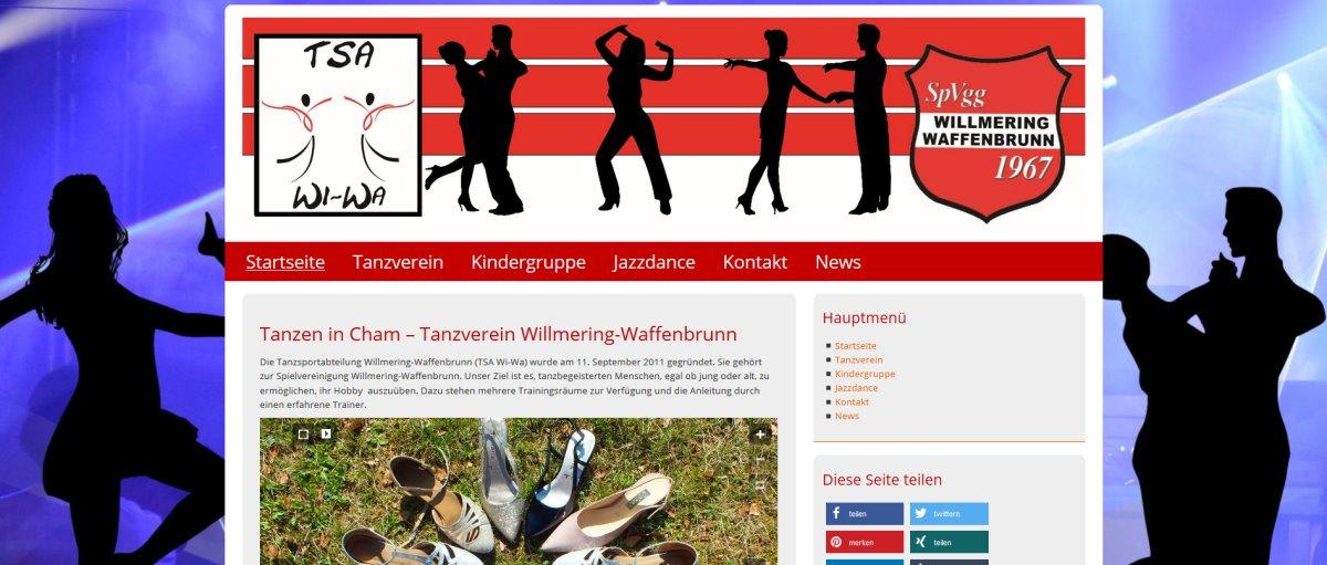 website-erstellen-tanzverein-oberpfalz-homepage-cham